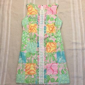 Lilly Pulitzer Shell Pattern Shift Dress
